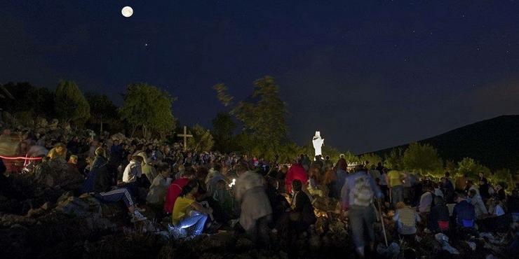 Messaggio straordinario a Ivan del 21 giugno 2019 sul  Podbrdo alle ore 22:00